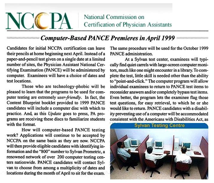 2019 nccpa pance content blueprint updates the physician